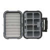 Waterproof Fly Box 8 compartments +Ripple