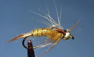Bead Golden Stonefly N7