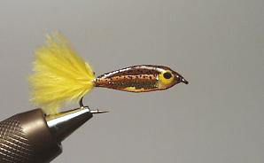 ST81 Streamer Minnow Fario