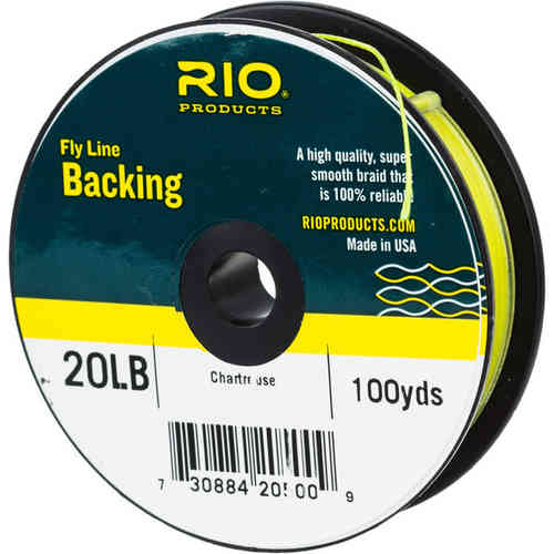 Backing RIO 20LB.100YD. CHARTREUSE