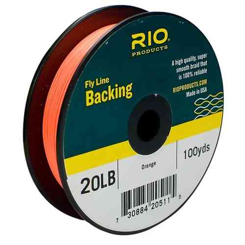 Backing RIO 20LB.100YD. Orange
