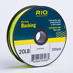 Backing RIO 20LB.200YD. Chartreuse