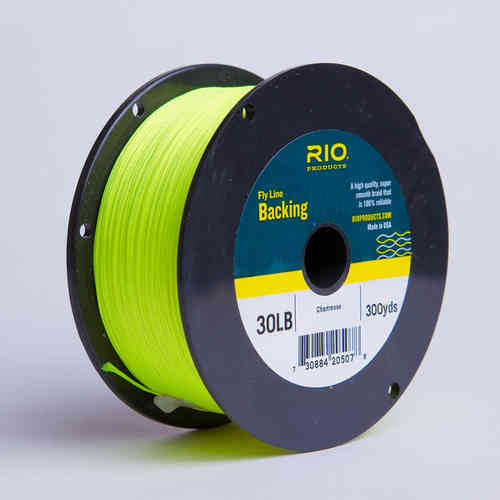 Backing RIO 30LB.300YD. Chartreuse