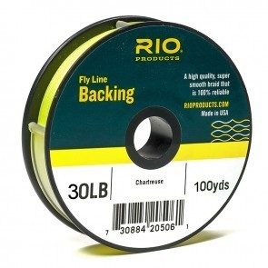 Backing RIO 30LB.100YD. CHARTREUSE
