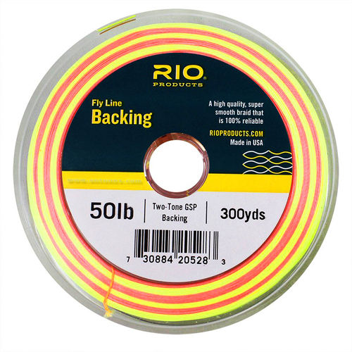 RIO Fly Line Backing - 2-Tone Gel Spun