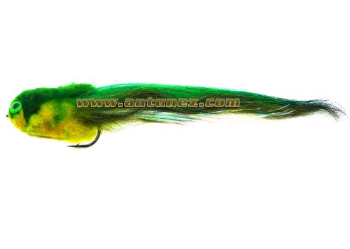 Streamer for Pike Green #4/0
