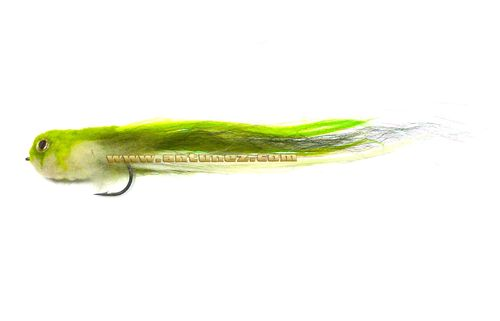 Streamer for Pike Chartreuse #4/0