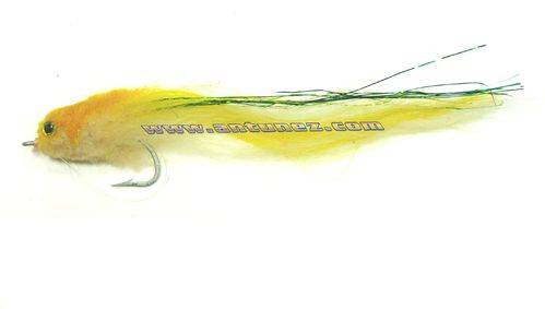 Streamer for Pike Yellow #3/0