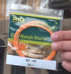 RIO FIPS Euro Nymph SHORTY